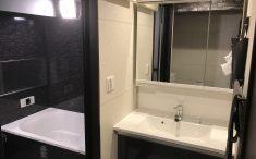 洗面室リフォーム後の写真
