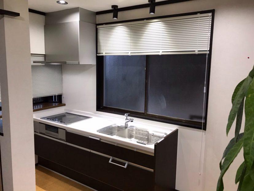 新設キッチンの写真