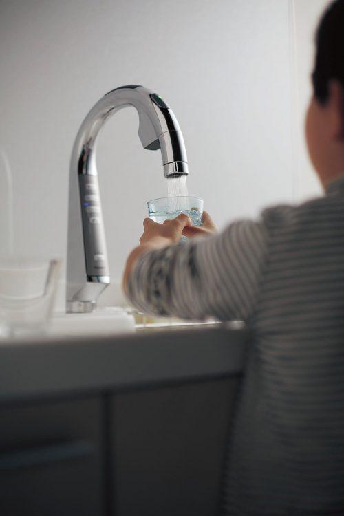 感染症対策 スリムセンサー水栓のイメージ画像