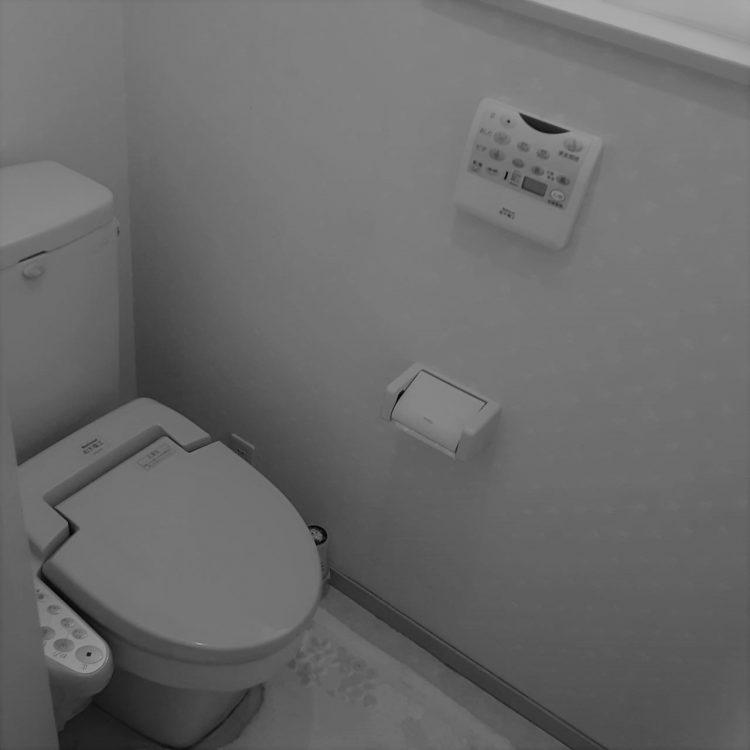 トイレ取替前